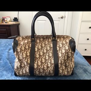 Vintage Dior Boston Bag